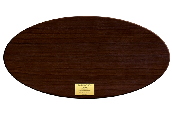 Wood plaque oval - Plaque de melamine a coller ...