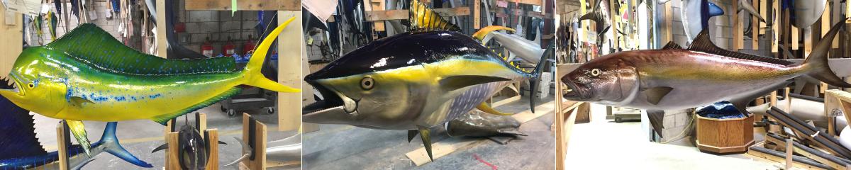 Saltwater Fish replicas | Global Fishmounts | Fiberglass fish